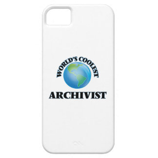 wORLD'S COOLEST aRCHIVIST iPhone 5 Cover