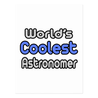World's Coolest Astronomer Postcard