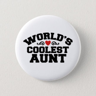 World's coolest Aunt Button