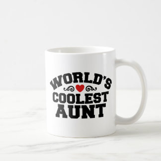 World's coolest Aunt Coffee Mug