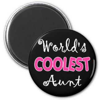 World's Coolest Aunt Magnet