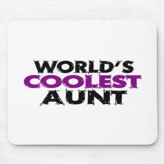 Worlds Coolest Aunt Mouse Pad