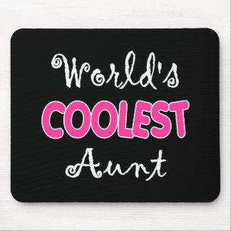 World's Coolest Aunt Mousepad