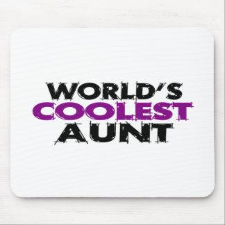 Worlds Coolest Aunt Mouse Pad