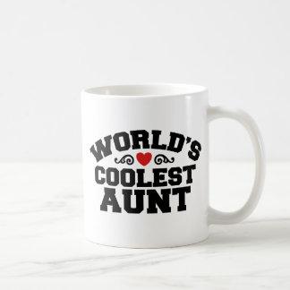 World's coolest Aunt Classic White Coffee Mug