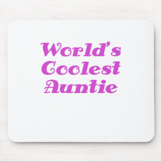 Worlds Coolest Auntie Mouse Pad