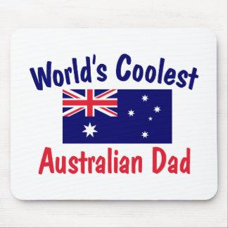 World's Coolest Australian Dad Mousepads