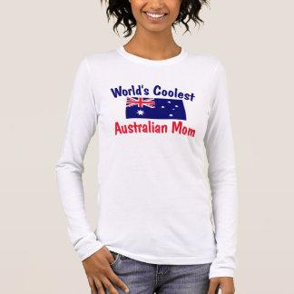 World's Coolest Australian Mom Long Sleeve T-Shirt