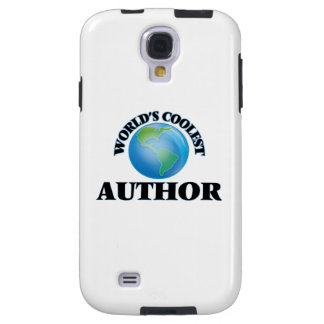 wORLD'S COOLEST aUTHOR Galaxy S4 Case