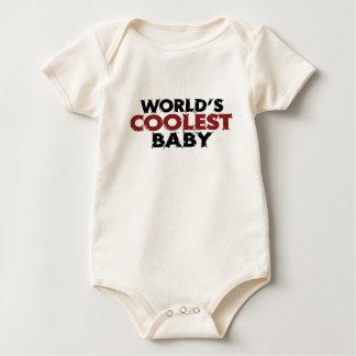 Worlds Coolest Baby Boy Baby Bodysuit