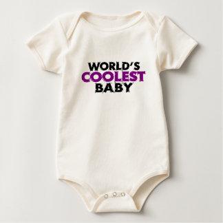 Worlds Coolest Baby Girl Baby Bodysuit