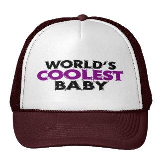 Worlds Coolest Baby Girl Trucker Hats