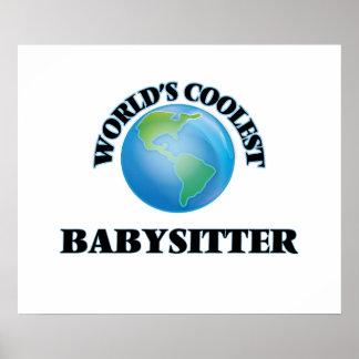 World's coolest Babysitter Poster