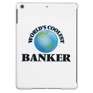 World's coolest Banker iPad Air Covers