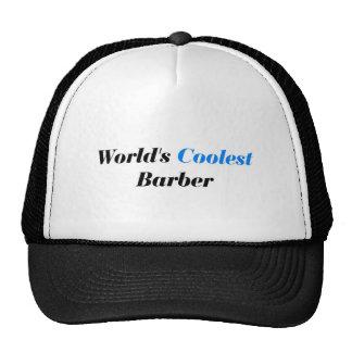World's coolest barber trucker hat