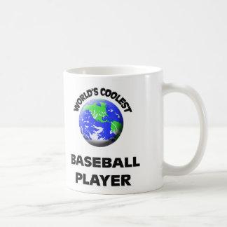 World's Coolest Baseball Player Coffee Mug