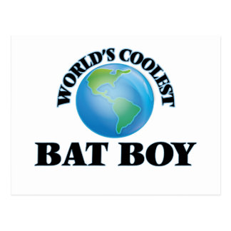 World's coolest Bat Boy Post Card