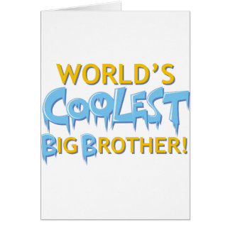 World's Coolest Big Brother Card