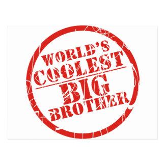 World's Coolest Big Brother Postcard