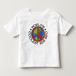 World's Coolest Big Brother Toddler T-shirt