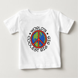 World's Coolest Big Sister Baby T-Shirt