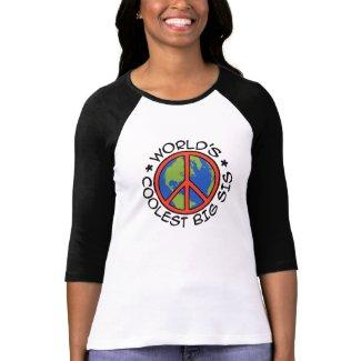 World's Coolest Big Sister Shirt
