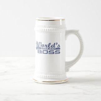 World's Coolest Boss Beer Stein