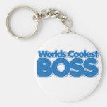 Worlds Coolest Boss Keychain