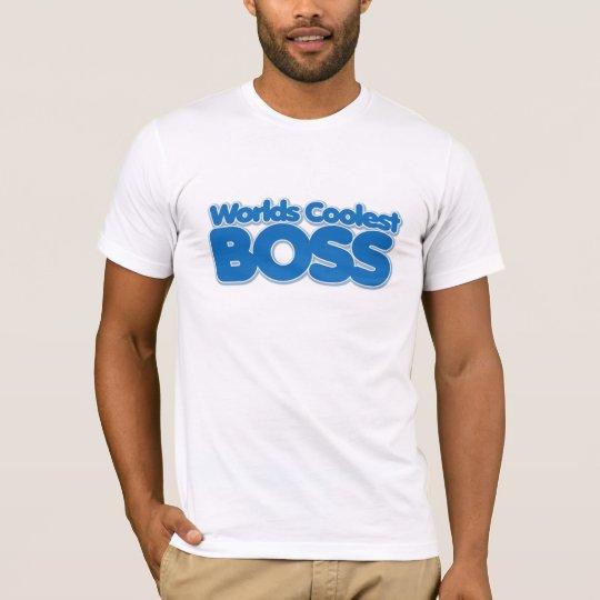 Worlds Coolest Boss T-Shirt