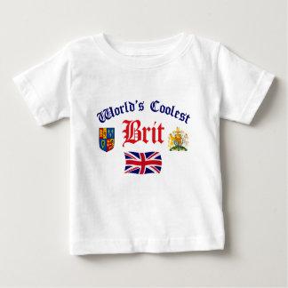 World's Coolest Brit Baby T-Shirt
