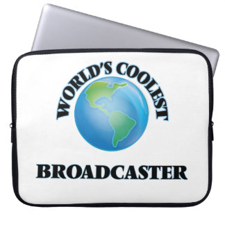 World's coolest Broadcaster Computer Sleeve