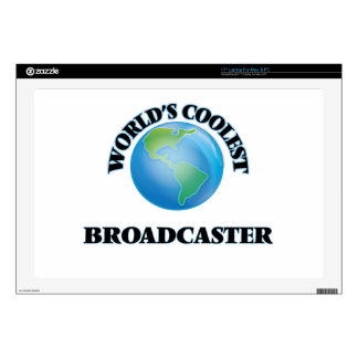 World's coolest Broadcaster Decals For Laptops