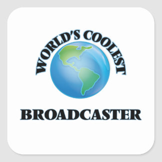 World's coolest Broadcaster Stickers
