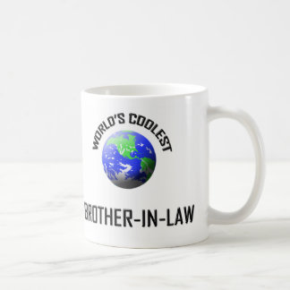 World's Coolest Brother-in-Law Classic White Coffee Mug