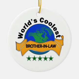 World's Coolest Brother-In-Law Christmas Tree Ornament