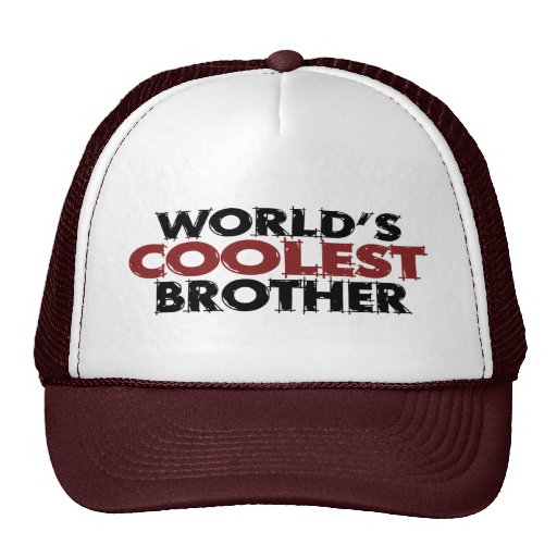Worlds Coolest Brother Trucker Hat