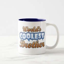 World's Coolest Brother Two-Tone Mug