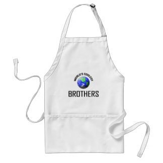 World's Coolest Brothers Adult Apron