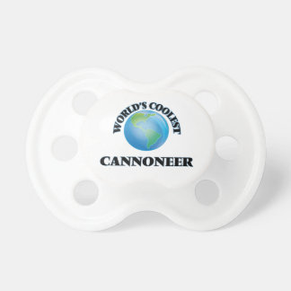 World's coolest Cannoneer Pacifiers