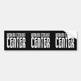 Worlds Coolest Center Bumper Stickers