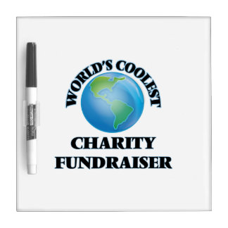 World's coolest Charity Fundraiser Dry-Erase Whiteboard