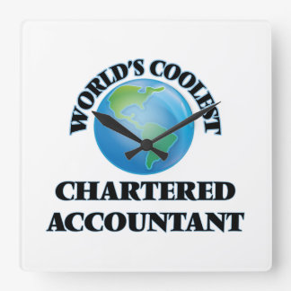 World's coolest Chartered Accountant Clocks