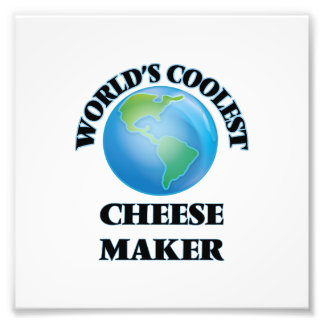 World's coolest Cheese Maker Photo Print