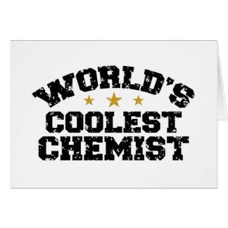 World's Coolest Chemist Card