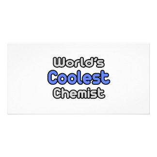 World's Coolest Chemist Personalized Photo Card
