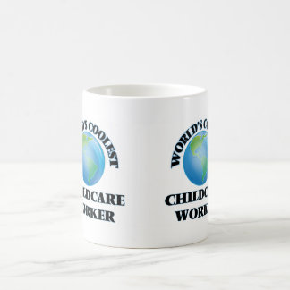 World's coolest Childcare Worker Mug