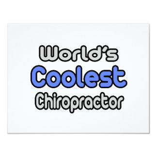 World's Coolest Chiropractor Card