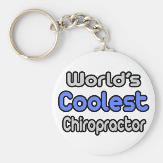 World's Coolest Chiropractor Keychain