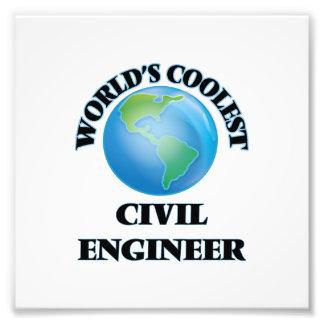 World's coolest Civil Engineer Photo Art