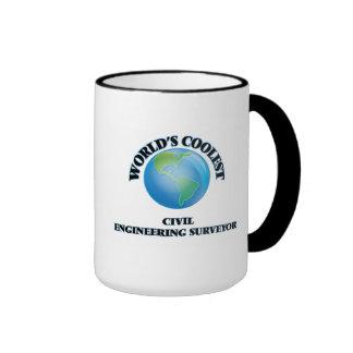 World's coolest Civil Engineering Surveyor Coffee Mugs